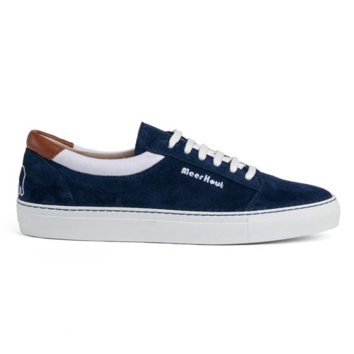 blue and white Meer Hout sneakers