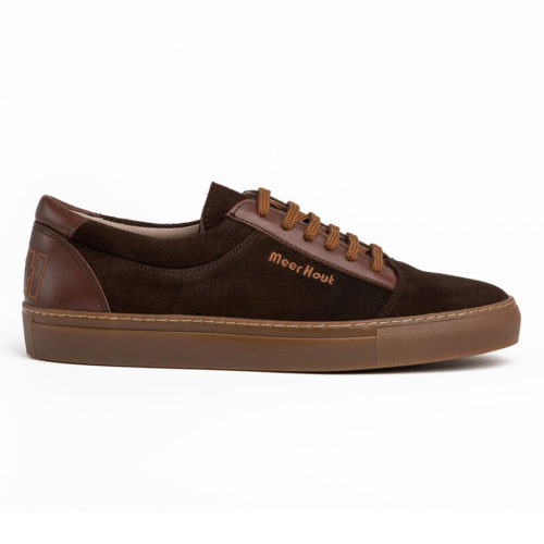 zapatillas marrones virtus perfil Meer Hout