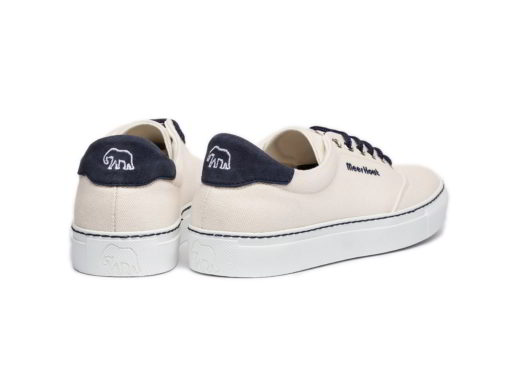 men's and women's white shoes