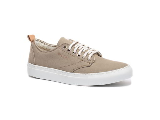 men's cotton and leather canvas sneakers for women
