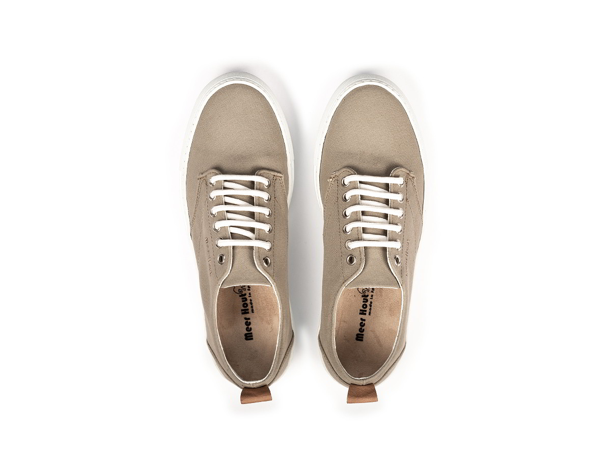 cotton canvas sneakers for men and women